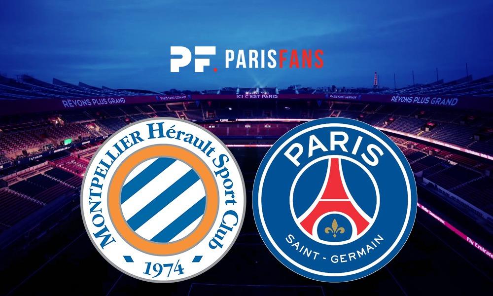 Montpellier/PSG - Les équipes officielles :