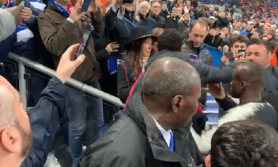 Neymar a mis un coup à un supporters rennais qui insultait les joueurs du PSG