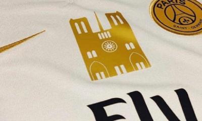 Un magasin lance un maillot avec un badge en hommage à Notre-Dame et pour participer à sa reconstruction