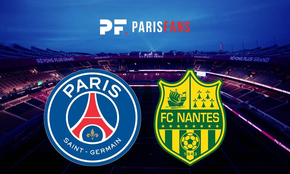 PSG/Nantes - Les équipes officielles : Verratti, Areola et Diaby titulaires, Draxler et Dani Alves remplaçants