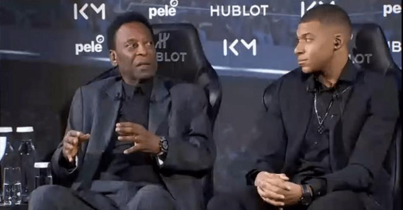 Pelé conseille Mbappé pour progresser et réussir sa carrière et indique qu'il n'a «pas besoin de partir du PSG»