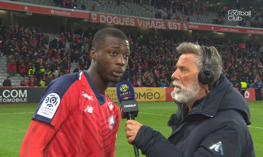 """Lille/PSG - Pépé """"Gagner 5-1 contre Paris, ce n'est pas donné à tout le monde même s'ils étaient à 10"""""""