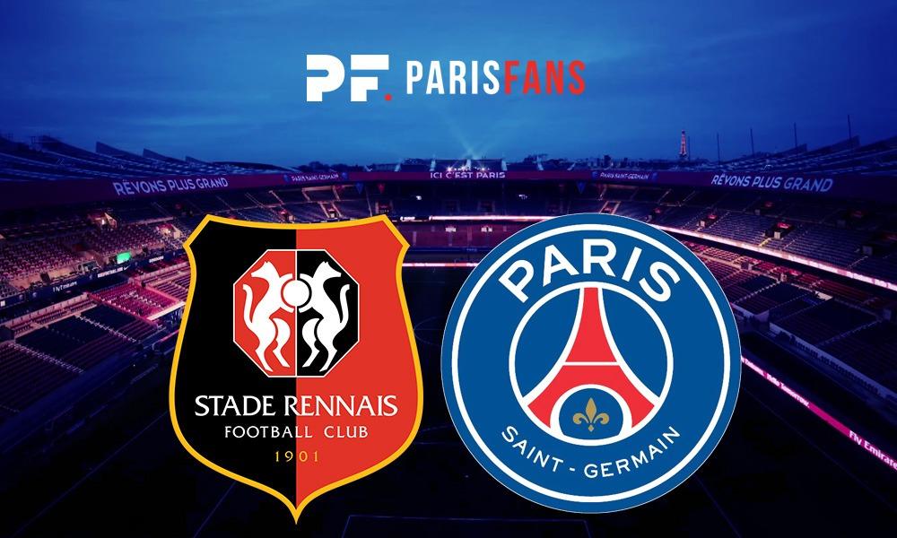 Rennes/PSG - Les équipes officielles : Mbappé, Verratti, Neymar et Di Maria titulaires, Cavani remplaçants