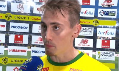"""Nantes/PSG - Rongier """"On ne pensait pas prendre des points contre Lyon et le PSG"""""""