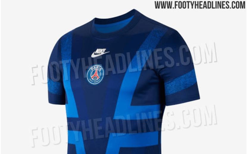 Voici la tenue d'avant-match du PSG en Ligue des Champions pour la saison 2019-2020, selon Footy Headlines