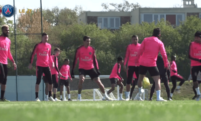 Lille/PSG - Suivez le début de l'entraînement des Parisiens ce samedi à 16h