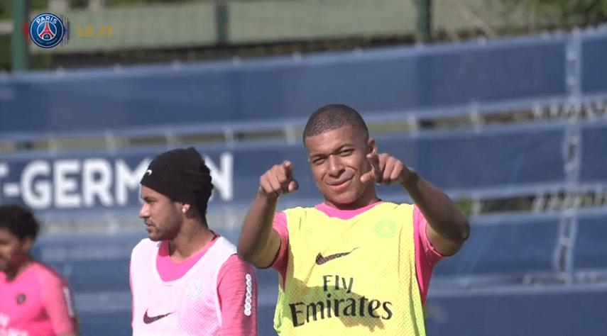 Les images du PSG ce vendredi : entraînement pour préparer la réception de Monaco, avec Neymar visiblement en forme