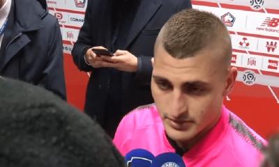 """Lille/PSG - Verratti """"On était venus pour être champions...On n'a pas été très intelligents"""""""