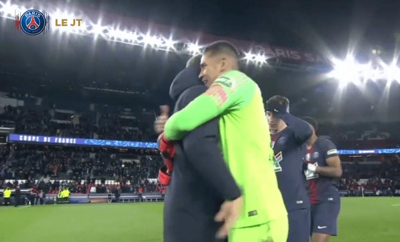 Les images du PSG ce jeudi : célébrations de la victoire face à Nantes