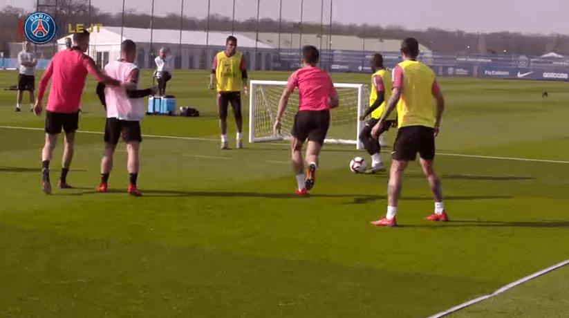 Les images du PSG ce lundi : victoire à Nantes et entraînement