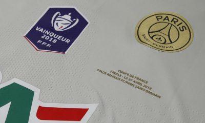 Rennes/PSG - Le club parisien dévoile le maillot qu'il va utiliser pour la finale