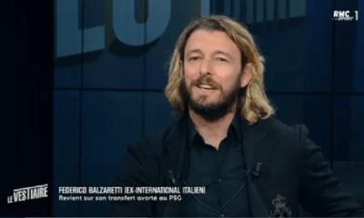 Balzaretti raconte avec regret son transfert avorté au PSG