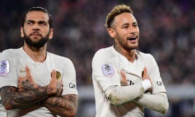 Dani Alves s'exprime à propos des rumeurs de départ de Neymar