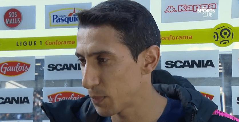 """Angers/PSG - Di Maria """"C'était un match difficile... C'est dur de se motiver quand on est déjà champion"""""""