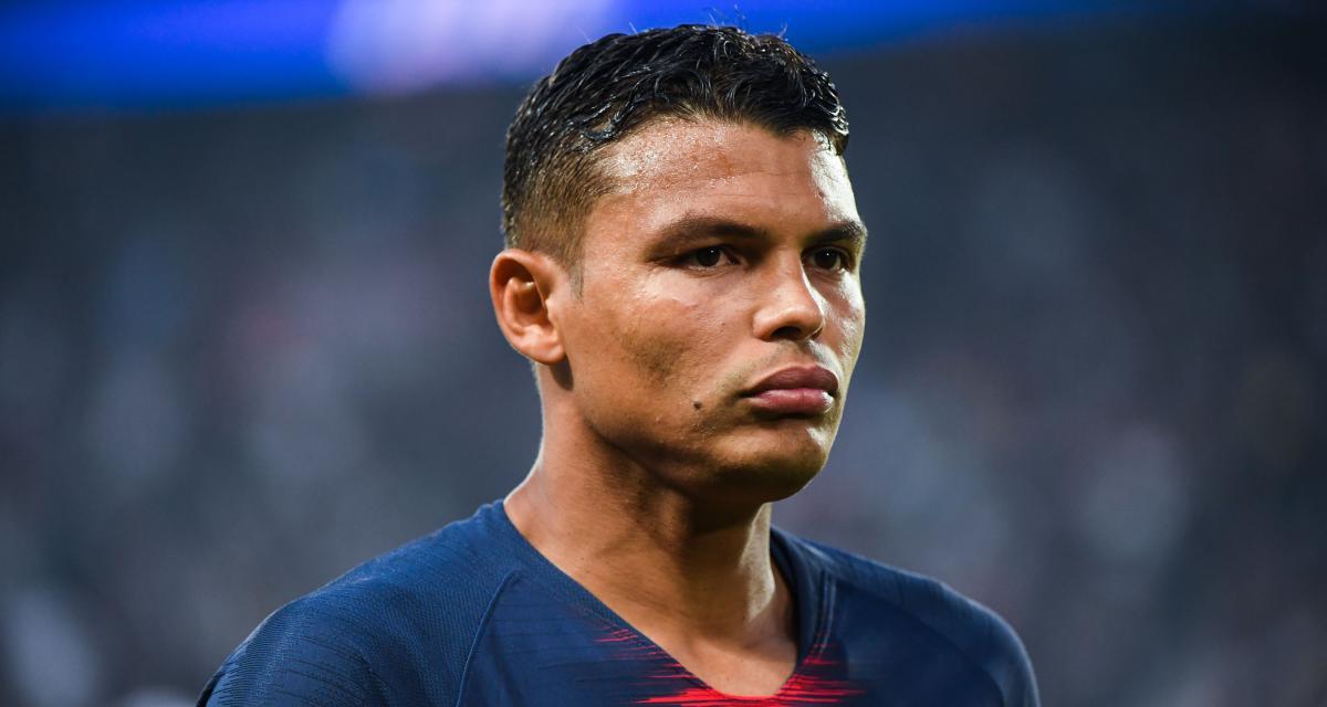 Le PSG annonce que l'opération subie par Thiago Silva «s'est bien déroulée»