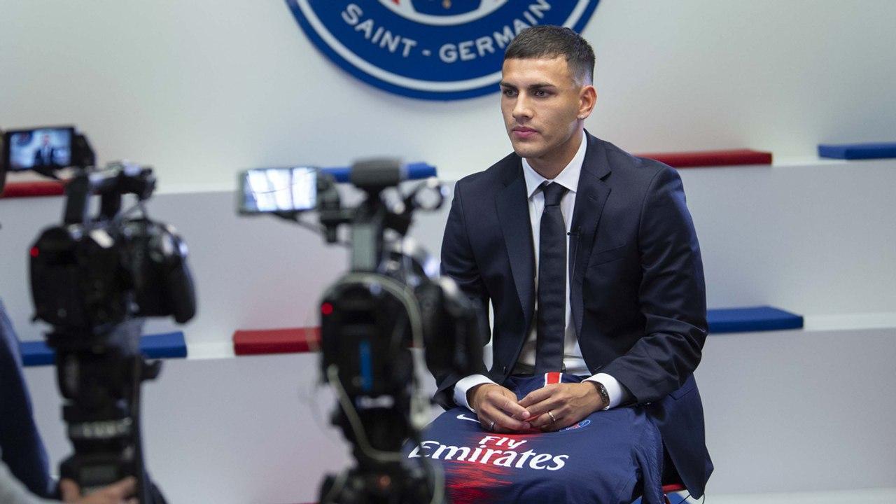 """Paredes: """"Le PSG est un club dont on parle beaucoup chez moi, en Argentine"""""""