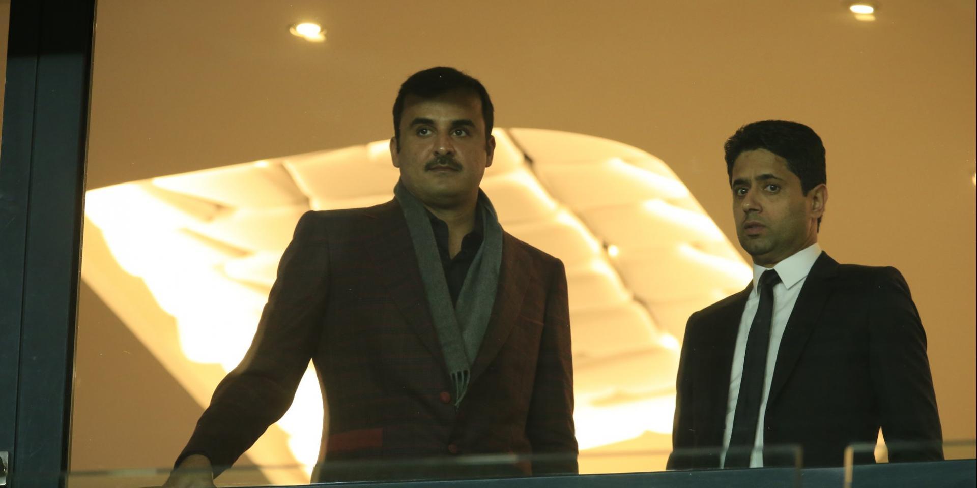 L'émir du Qatar va profiter de sa présence à Roland-Garros pour avoir des réunions de travail avec le PSG, selon RMC Sport