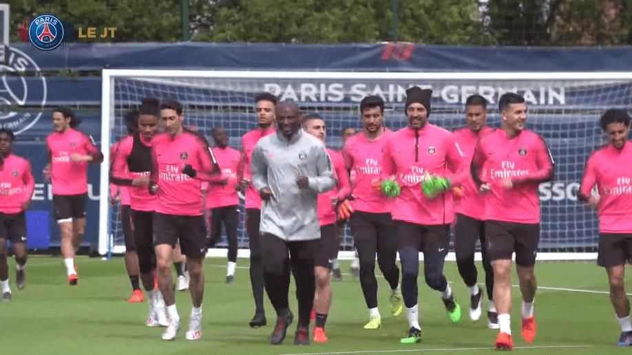 Les images du PSG ce mercredi : reprise de l'entraînement, Will Smith et l'opération de Thiago Silva