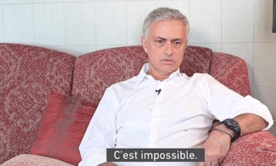 """Mourinho répond à la rumeur qui l'envoie au PSG """"c'est impossible"""""""