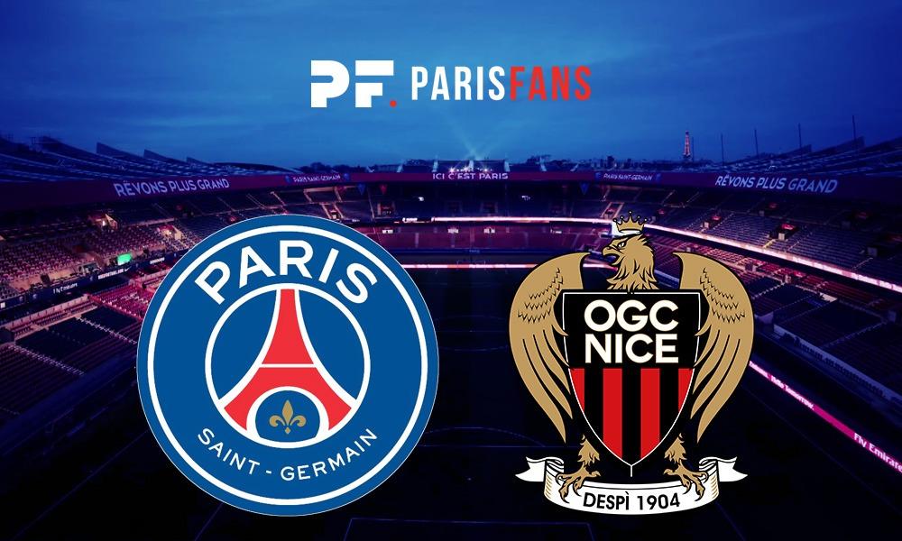 PSG/Nice - Les équipes officielles :