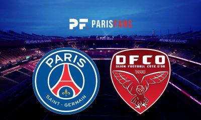 PSG/Dijon - Les équipes officielles :