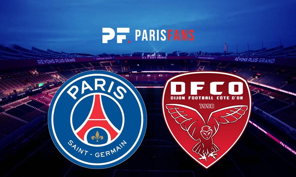 PSG/Dijon - Les équipes officielles : Cavani, Kehrer et Mbe Soh titulaires