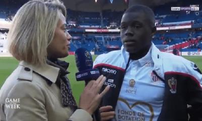 """PSG/Nice - Sarr """"On peut tuer le match...c'est bien d'avoir pu prendre ce point"""""""
