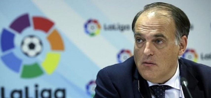 Tebas accuse le PSG et City de faire «énormément de mal au football»