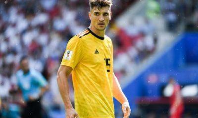 Thomas Meunier convoqué avec la Belgique pour les matchs de juin
