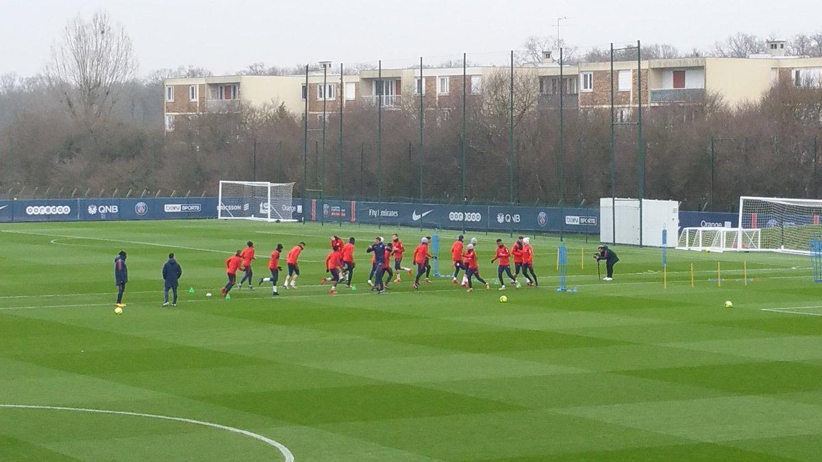 Reims/PSG - Suivez le début de l'entraînement des Parisiens ce jeudi à 16h