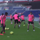 Les images du PSG ce jeudi : sourires, entraînement et top buts de la saison