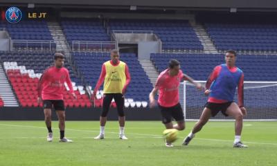 Les images du PSG ce mercredi : Rabiot fête le titre, Thiago Silva à l'entraînement et Gala