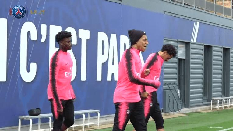 Les images du PSG ce jeudi : entraînement et anniversaire de Beckham
