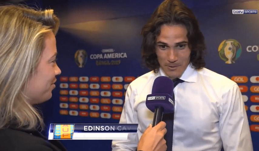 "Cavani ""Je suis fier au PSG...Neymar ? Je ne sais pas ce qui va se passer"""