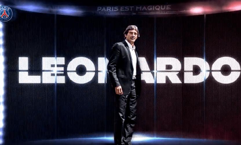 """Leonardo """"Je suis extrêmement enthousiaste à l'idée de retrouver une nouvelle fois le Paris Saint-Germain"""""""