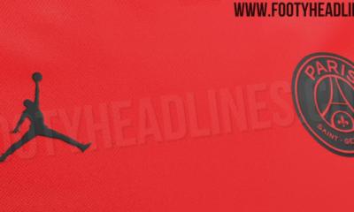 La tenue à l'extérieur du PSG pour la saison 2019-2020 à dominante rouge se confirme