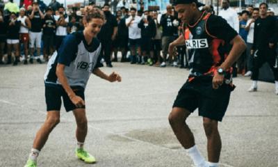 Mbappé a dévoilé un maillot de la collection PSG x Jordan