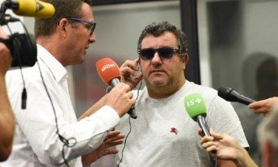 """Mercato - Raiola évoque une """"Fake News"""" autour de sa présence à Paris"""