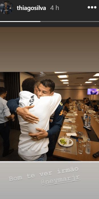 Les images du PSG ce vendredi : Vacances, sélections et Neymar qui rend visite à la Seleçao