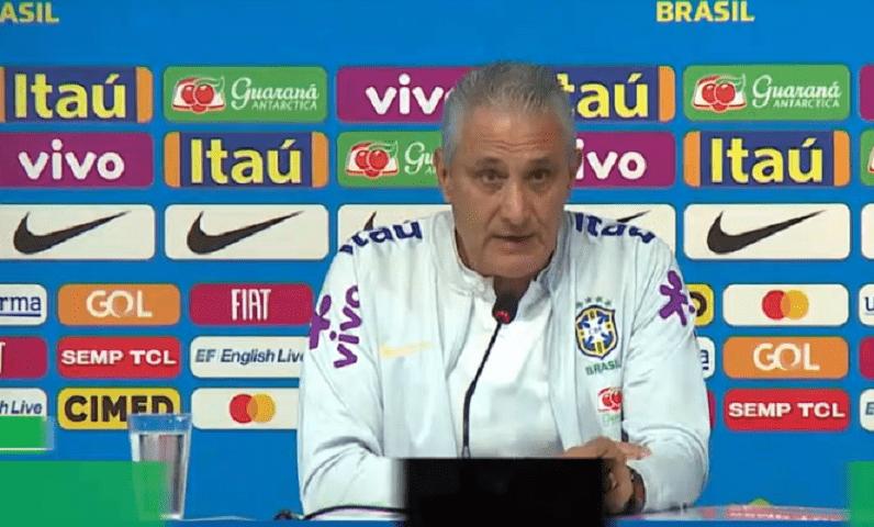"""Tite s'exprime à propos du forfait de Neymar et ne veut pas parler des """"problèmes extérieurs"""""""