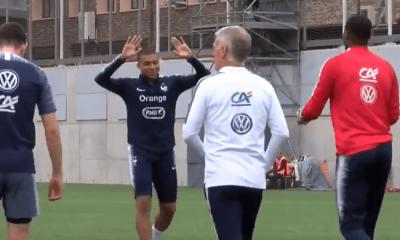 Les images du PSG ce lundi : sélections, Meunier félicite Guedes et buts de Mbappé