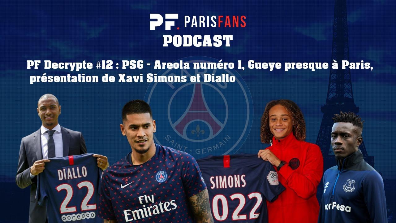 Podcast PSG: Areola numéro 1, Gueye presque à Paris, présentation de Xavi Simons et Diallo