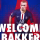 Officiel - Le PSG annonce la signature de Mitchel Bakker !
