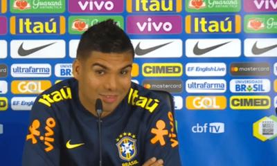 """Casemiro """"Si Neymar était là, ce serait mieux...Il est le meilleur joueur brésilien"""""""