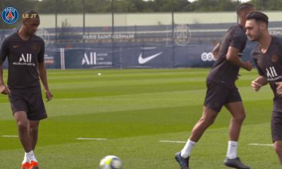 Les images du PSG ce mercredi : célébrations et premier entraînement avec le groupe pour Diallo et Neymar