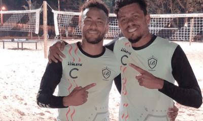 Non, Neymar n'est pas à Turin actuellement mais bien au Brésil