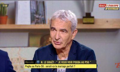 """Domenech: """"Pogba au PSG? Je ne suis pas sûr que dans le jeu de Paris ça apporte quelque chose"""""""