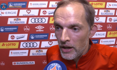 """Nuremberg/PSG - Tuchel """"Je suis très satisfait de la première période"""""""