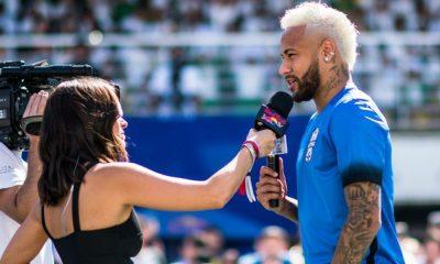 Une première interview stérile pour Neymar tandis que la seconde est dans la nature