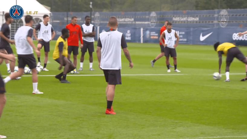 Les images du PSG ce jeudi : entraînement et quizz